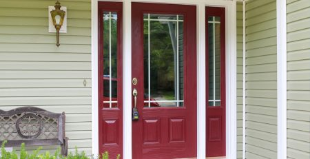 Comparing Fiberglass with Wood Front Doors