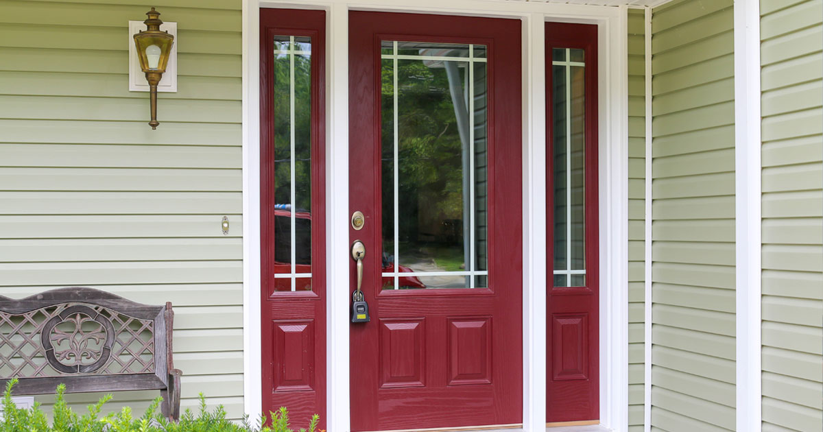 Comparing Fiberglass With Wood Front Doors Universal Windows Phoenix